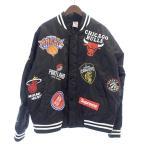 ショッピングシュプリーム シュプリーム/SUPREME ×NIKE 18SS NBA Teams Warm-Up Jacket ジャケット 90G18 サイズ メンズL ブラック ランクB 103  (中古)