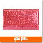 フォリフォリ Folli Follie キーケース レディース  ロゴマニア WA0L034SP/PNK ローズピンク
