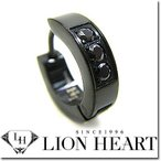 ライオンハート ピアス  LION HEART シングルフープピアス メンズ LHMP004N ステンレスアクセサリー