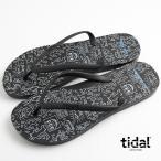 タイダルニューヨーク tidal NEW YORK ビーチサンダル メンズ ビーサン MADE IN USA アメリカ製 キースへリング Keith Haring