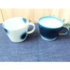 スープマグ カップ フリーカップ コーヒー茶碗 ヨシュアブルー ヨシュア工房  砥部焼 おしゃれ 青