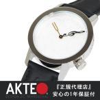 [SOLD OUT] アクテオ AKTEO GENERIC MUSIC 34mm ブラック 腕時計 メンズ レディース 牛革 革 グッズ ジェネリック ミュージック 時計 フランス製 送料無料