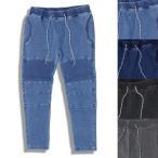 ショッピングスウェット スウェットパンツ メンズ ブランド バイカー WEST SHORE ウエストショア パンツ デニム バイカーパンツ