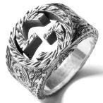 グッチ リング【指輪】 アクセサリー メンズ レディース インターロッキングG シルバー 455302 J8400 0811 GUCCI