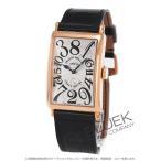 フランクミュラー FRANCK MULLER 腕時計 ロングアイランド クレイジーアワーズ PG金無垢 クロコレザー メンズ 1200 CH