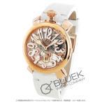 ガガミラノ GaGa MILANO 腕時計 マヌアーレ48MM スケルトン メンズ 5311.01