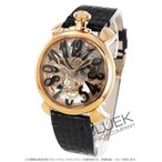 ガガミラノ GaGa MILANO 腕時計 マヌアーレ48MM スケルトン メンズ 5311.02