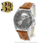 ハミルトン HAMILTON 腕時計 ジャズマスター ビューマチック オープンハート オーストリッチレザー メンズ H32565585