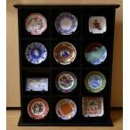 フランクリンミント 日本名窯風 十二選 小皿 ディスプレイ棚付