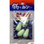 【釣り】TAKATA  ※夜光※ 釣れルンです! ナス型 H 5号【510】