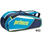 【テニスラケットケース】PRINCE(プリンス) ラケットバッグ(6本入れ)AT872【750】