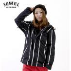 【スノーウエア】JEWEL(ジュエル) WOMEN'S GISELE JKT MONOTONE STRIPE 【206】