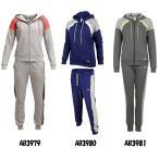 【スポーツウエア】adidas(アディダス) TRACKSUIT ヤングコットンスーツ レディーススウェットパーカー&パンツ JOW59【350】