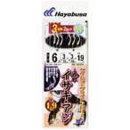【釣り】ハヤブサ 海戦イサキ・アジ ケイムラ&ブライトンMIX 3本鈎2セット SE376【510】