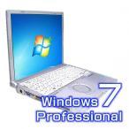 【開店セール】【中古】レッツノート PANASONIC T9 CF-T9JWFCDS  無線付き CORE2 1.6GHZ 4GB/320GB WINDOWS 7 PRO搭載 中古パソコン