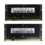 ショッピング中古 【中古良品】ノート用メモリ BUFFALO  PC3-10600S DDR3 1333 2GB 2枚セット 計4GB 中古メモリ 【開店セール】【送料無料】