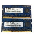ショッピング中古 【中古良品】デスクトップ用メモリ SANMAX PC3-10600U DDR3 1333 4GB 2枚セット 計8GB 中古メモリ【送料無料】