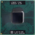 ショッピング中古 【中古良品】ノート用CPU インテル Core2 Duo プロセッサー T7250 2M 2.00GHz 800MHz FSB インテル モバイル中古CPU 【開店セール】【送料無料】