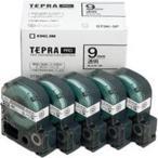 (業務用5セット) キングジム テプラ PROテープ/ラベルライター用テープ 〔幅:9mm〕 5個入り ST9K-5P 透明