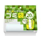 (まとめ)ケミカルジャパン 次が使いやすいゴミ袋20L HD-506N 1本(20枚)〔×50セット〕