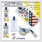 ☆BLUE TEE GOLF California 【3WAYホルダー】 パターカバーホルダー♪ グローブホルダー♪ ネームプレート♪【Tokyo 新橋店】