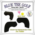 ブルーティーゴルフ BLUE TEE GOLF 【ブレード型 ストレッチ素材】 パター用 ヘッドカバー