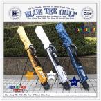 ☆ブルーティーゴルフ BLUE TEE GOLF  【セルフスタンドバッグ】  クラブケース(フード付き) 【コースで&練習場にも♪】  【Tokyo 新橋店】