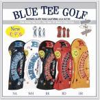 ショッピングブルー ブルーティーゴルフ BLUE TEE GOLF【2018BTGソフトエナメル】3本セット:Bタイプ販売ヘッドカバー