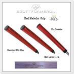 """【スコッティ・キャメロン】Scotty Cameron 【"""" Red Matador Grip"""" 】  レッド マタドール 3タイプ パター グリップ"""