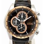 (ウォッチ)SEIKO セイコー イグニッション 1/100秒ストップウォッチ クロノグラフ メンズ クォーツ 腕時計 7T82-0AE0(u)