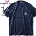 ショッピングサイズ 大きいサイズ メンズ Vineyard Vines ヴィニヤードヴァインズ ポケット付き半袖プリントTシャツ USA直輸入 1v000004