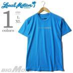 大きいサイズ メンズ L XL LOCAL MOTION ローカルモーション プリント半袖Tシャツ USA直輸入 2013lm-07