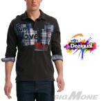 大きいサイズ メンズ XL XXL 3XL DESIGUAL デシグアル デザインポロシャツ Fun, Love, Sexy 38l1720