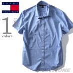 ショッピングサイズ 大きいサイズ メンズ TOMMY HILFIGER トミーヒルフィガー 半袖総柄カジュアルシャツ USA直輸入 78b1420