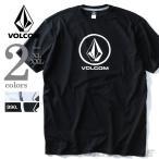 ショッピングサイズ 大きいサイズ メンズ VOLCOM ボルコム ロゴプリント半袖Tシャツ Fade Stone S/S Tee USA直輸入 a3511600