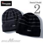 ショッピングサイズ 大きいサイズ メンズ DANIEL DODD Thinsulate ボーダー柄ニットキャップ 帽子 秋冬新作 azcp-16dd02