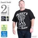 Yahoo!大きいサイズの店ビッグエムワン大きいサイズ メンズ DANIEL DODD オーガニックプリント半袖Tシャツ JACKEY'S 春夏新作 azt-170245
