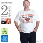 Yahoo!大きいサイズの店ビッグエムワン大きいサイズ メンズ DANIEL DODD オーガニックプリント半袖Tシャツ WALNUT CANYON 春夏新作 azt-170246