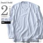 ショッピングサイズ 大きいサイズ メンズ DANIEL DODD リブVネックロングTシャツ 秋冬新作 azt-170419
