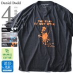 Yahoo!大きいサイズの店ビッグエムワンタダ割 大きいサイズ メンズ DANIEL DODD オーガニックプリント半袖Tシャツ TO DISGUISE 春夏新作 azt-180228