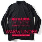 大きいサイズ メンズ DANIEL DODD ウォームアンダー ハイネック長袖Tシャツ 肌着 下着 azu-15203