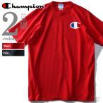 大きいサイズ メンズ Champion チャンピオン ビッグロゴプリントTシャツ USA直輸入 gt19-y06137
