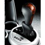 """BMW MINI アクセサリー MINI one.cooper R50.R52 A/T用 セレクター・レバー""""ウッド&レザー"""""""