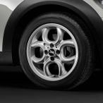 BMW MINI アルミホイール 6.5J×16 ET48 4ホール・サーキュラー・スポーク R120 R55/R56/R57/R58/R59