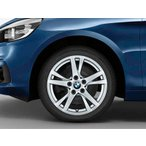 BMW 純正アルミホイール BMW F45/F46 2シリーズ アクティブツアラー/グランツアラー ダブルスポーク・スタイリング473 単体 7J×16(フロント/リヤ共通)
