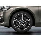 BMW 純正アルミホイール BMW F45/F46 2シリーズ アクティブツアラー/グランツアラー ダブルスポーク・スタイリング361 バイカラー フェリック・グレー/
