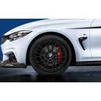 BMW純正 BMW F30/F31/F32/F33/F36 純正アロイ・ホイール BMW M Performance ダブルスポーク・スタイリング405 マット・ブラック 単体 8J×20