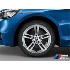 BMW 純正アルミホイール BMW F45/F46 2シリーズ アクティブツアラー/グランツアラー M ライト・アロイ・ホイール・ダブルスポーク・スタイリング483M 単体