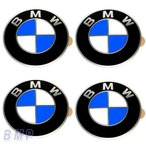 BMW純正 BMW エンブレム BMW ホィールキャップバッジ 58mm 4枚セット