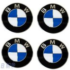 BMW純正 BMW エンブレム BMW ホィールキャップ バッジ 70mm 4枚セット